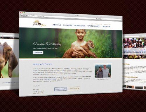 Charity Website Design  |  Goats for Jesus