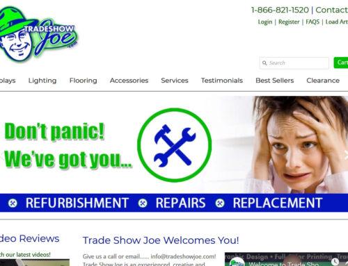 Product Design – Website Management Support Tradeshowjoe
